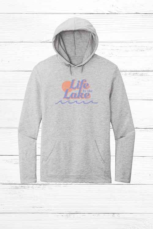 Life by the Lake Lightweight Terry Hoodie