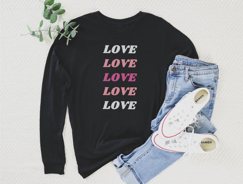 Love Thy Neighbor Long Sleeve Tee