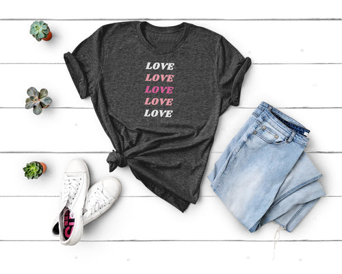 Love Spectrum Tee - Little Chicago Clothing Co.