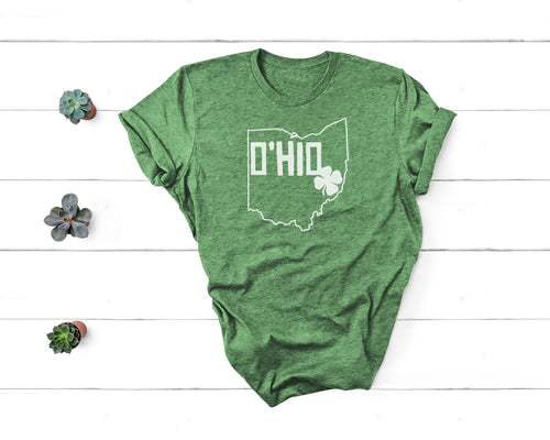 O'HIO Shamrock Tee - Little Chicago Clothing Co.
