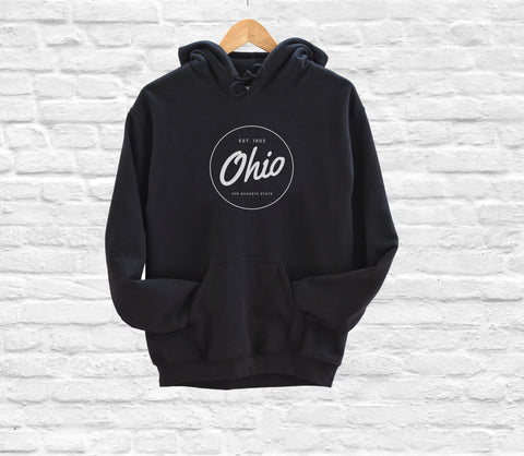 Animal Print Caps Ohio Crossover Fleece Hoodie