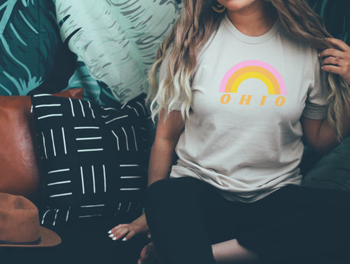 Rainbow Ohio Tee - Little Chicago Clothing Co.