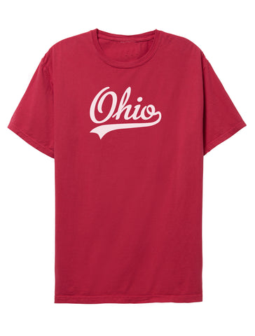 Heart Ohio Crew Fleece Pullover
