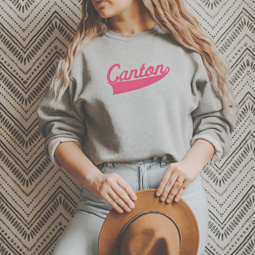 Retro Canton Crew Fleece - Little Chicago Clothing Co.