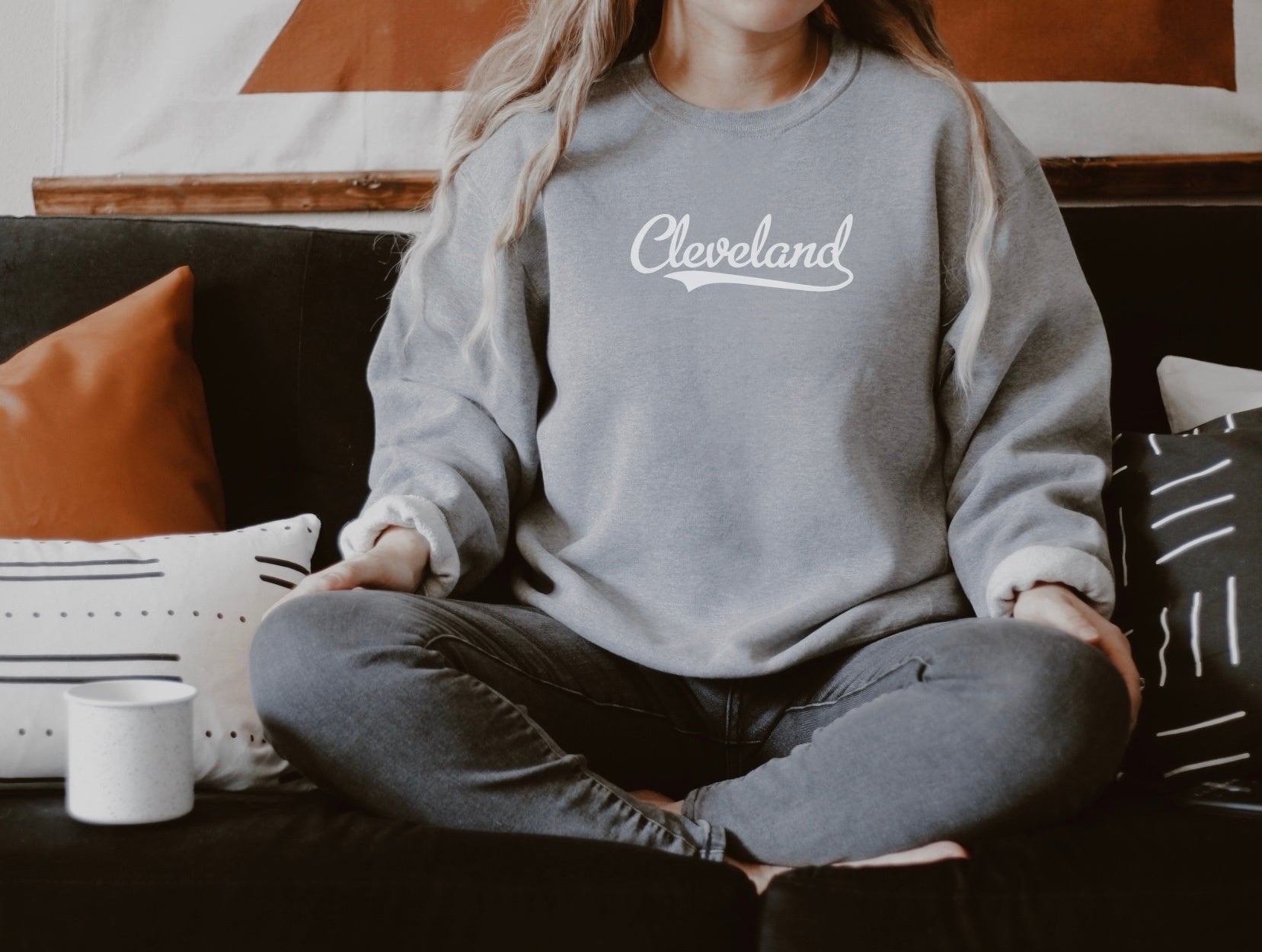 Retro Cleveland Crew Fleece