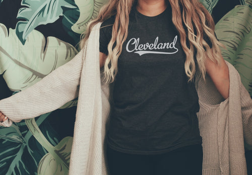 Retro Cleveland Tee - Little Chicago Clothing Co.