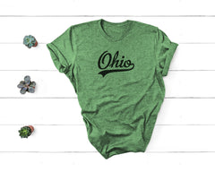 Retro Ohio Tee - Little Chicago Clothing Co.