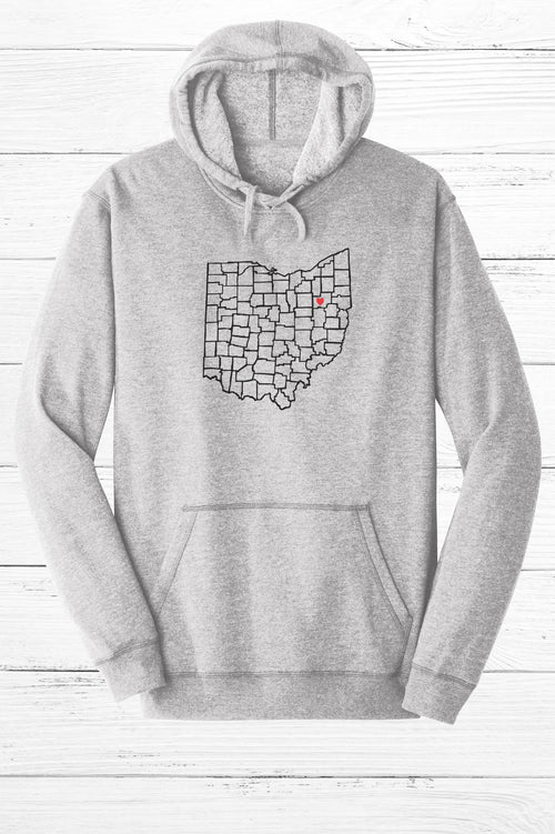 Stark County Love Fleece Hoodie