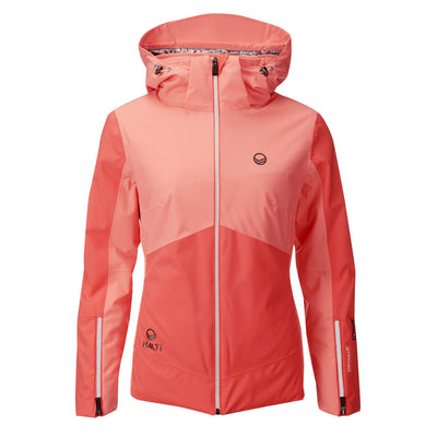 Halti Saarua Women's Padded Ski Jacket Orange