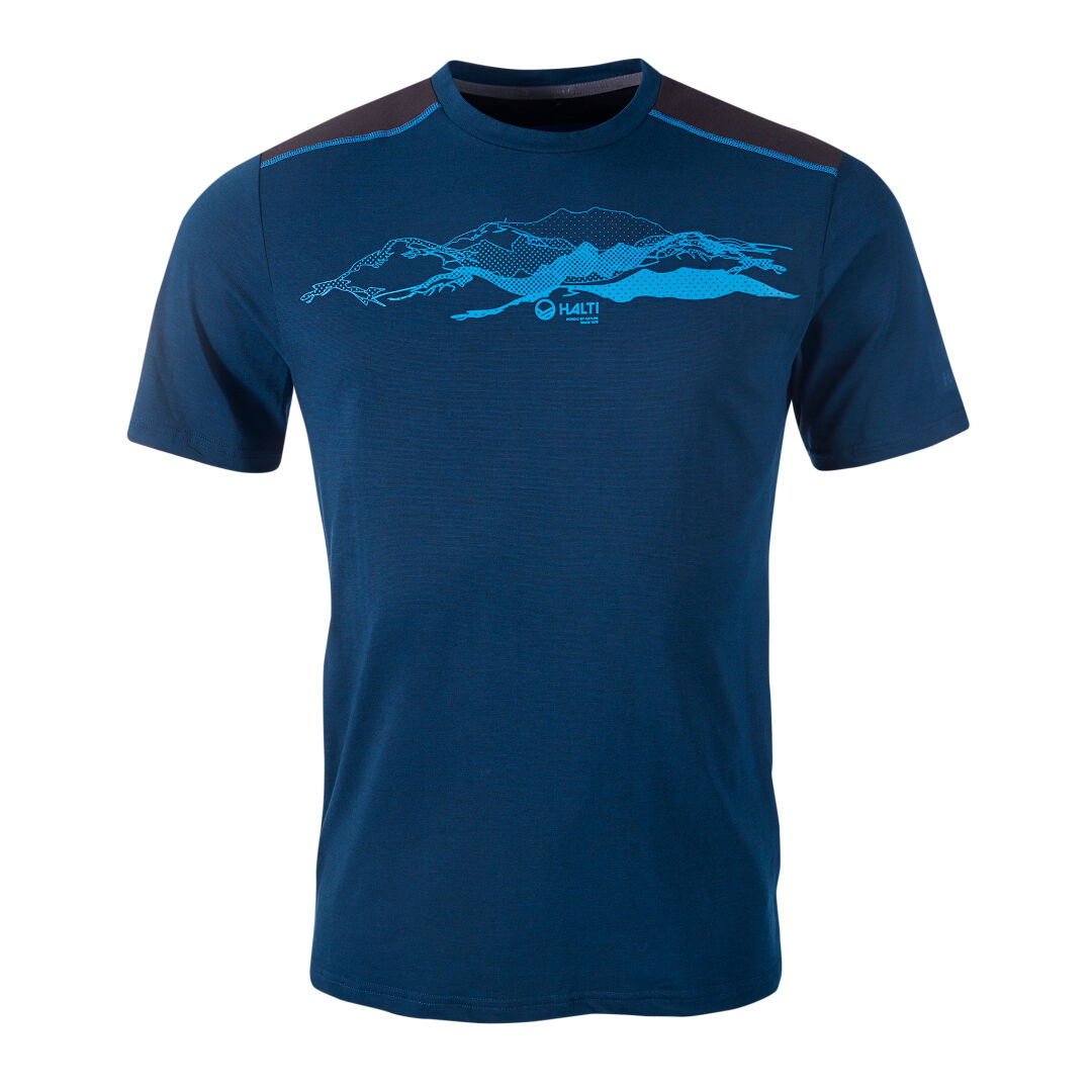 Halti Valtteri Men's T-shirt blue