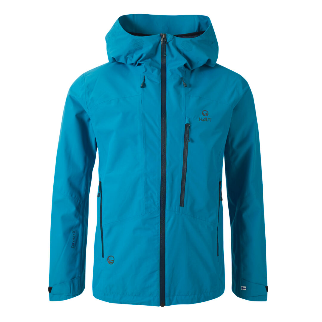 Halti Hetta Men's  DrymaxX Shell Jacket Blue