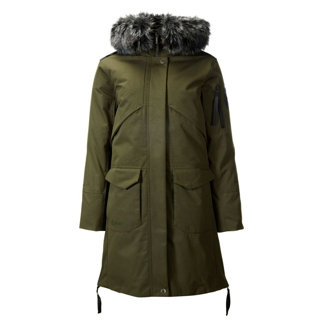 Halti Osaka Women's parka jacket green