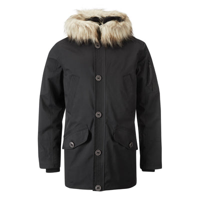 Halti Kivikko Jacket Men's Warm Black Parka Jacket