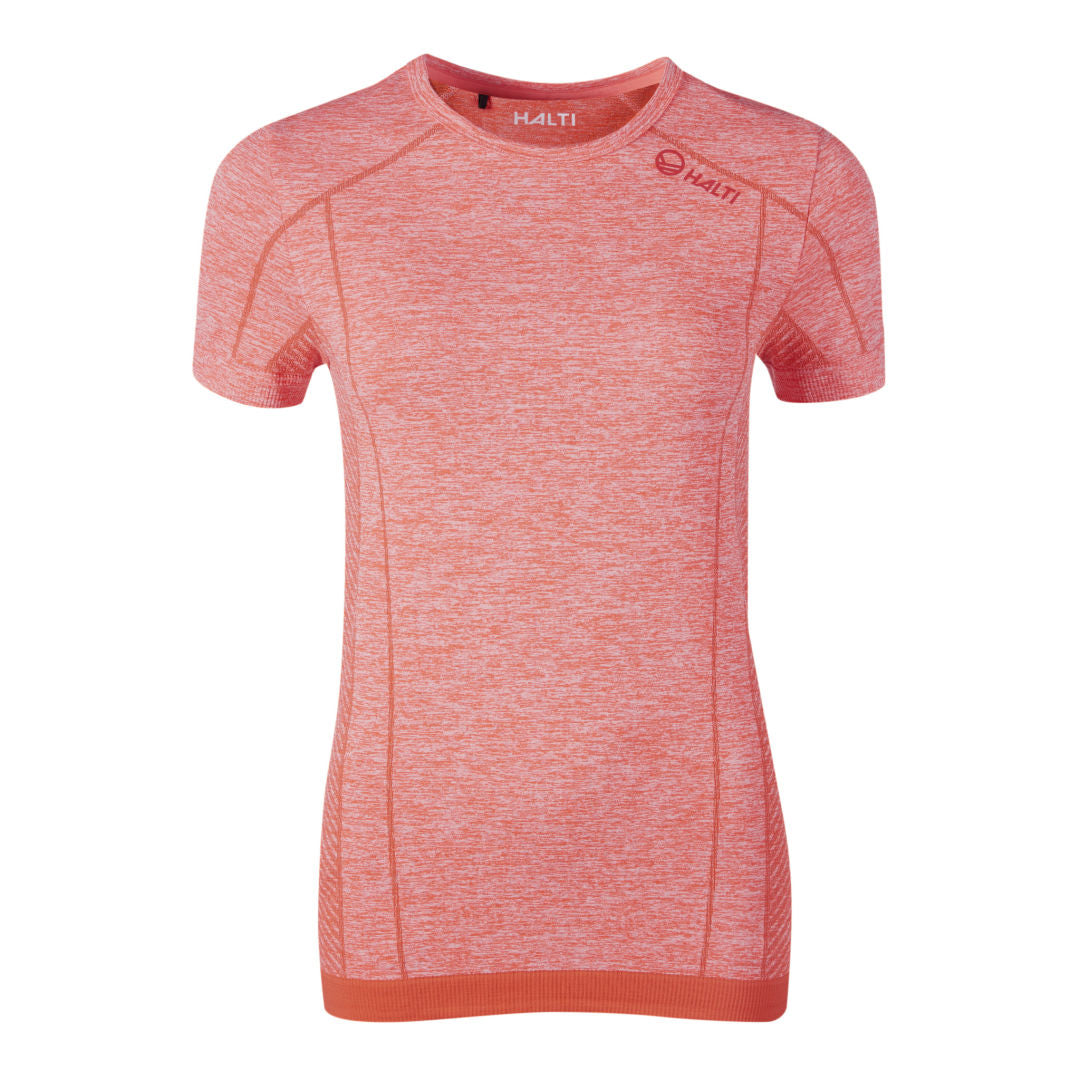 Halti Free Seamless Womens Baselayer T-Shirt Coral