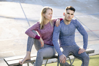Halti Men's and Women's Free Seamless Baselayer Shirt and Pants