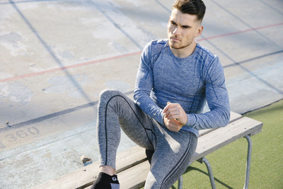Halti Men's Free Seamless M Baselayer Shirt and Pants