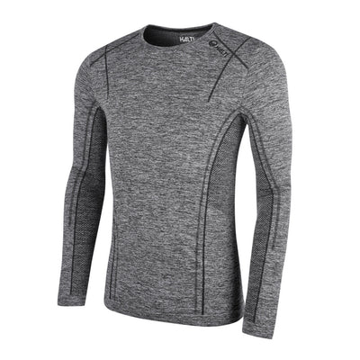 Halti Free Seamless Men's Baselayer LS Shirt Grey
