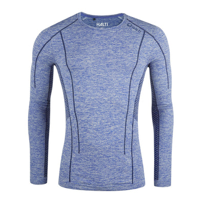 Halti Free Seamless Men's Baselayer LS Shirt Blue