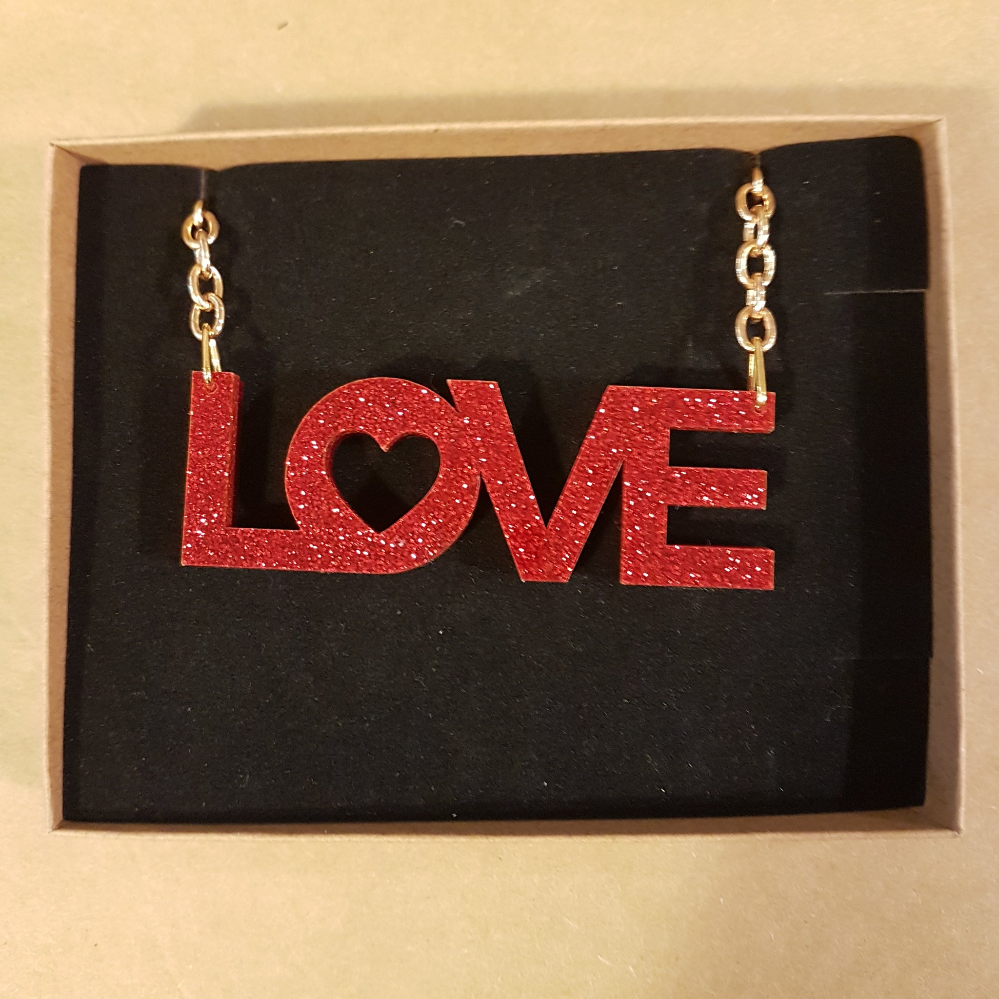 Love Large Necklace