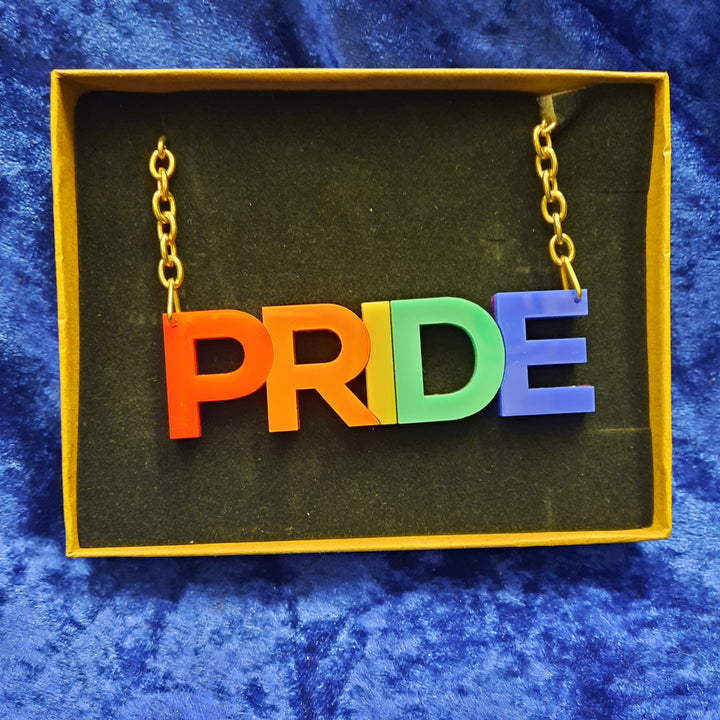 Large Pride Rainbow Necklace
