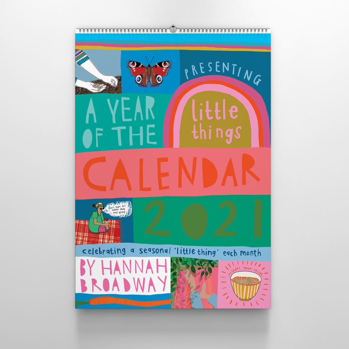 A Year Of The Little Things 2021 A3 Calendar