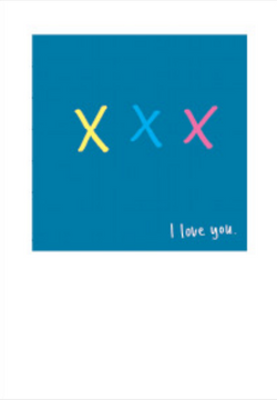 XXX I love you (A4)