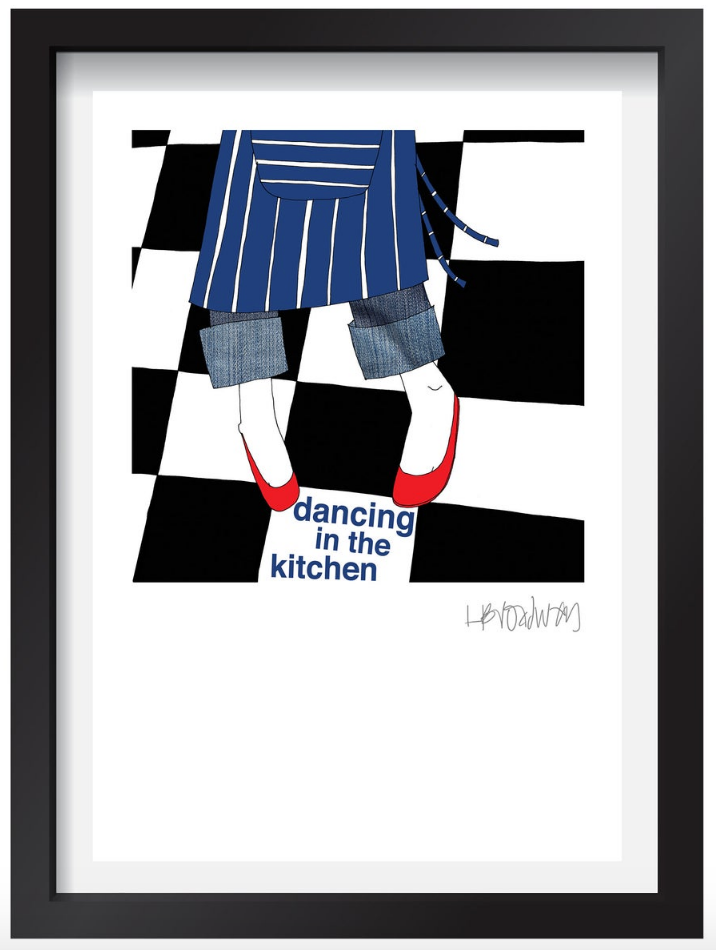 Dancing In The Kitchen (A3)
