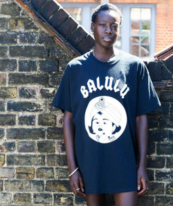 Balulu Garms Black T-Shirt - XL