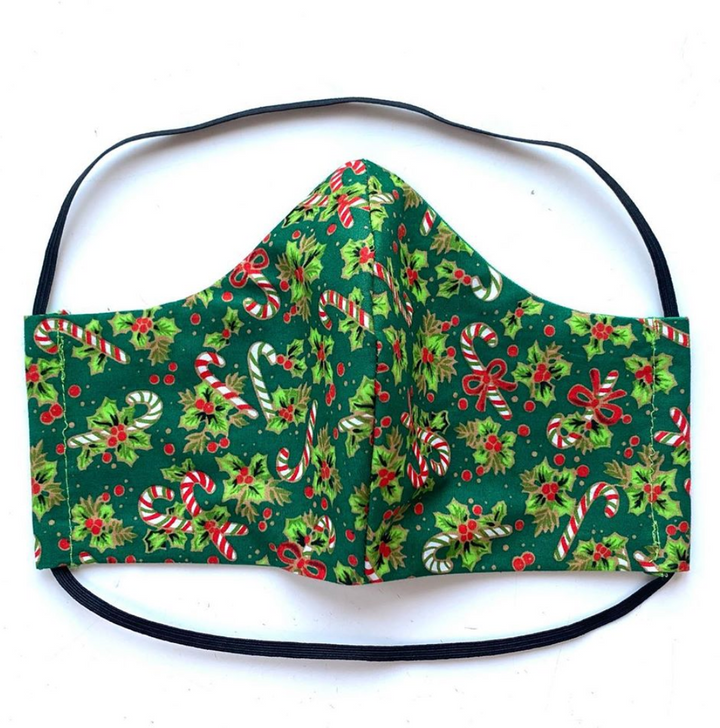 Christmas Print Face Mask