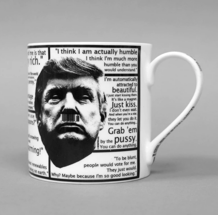Trump Quote Shockers Mug