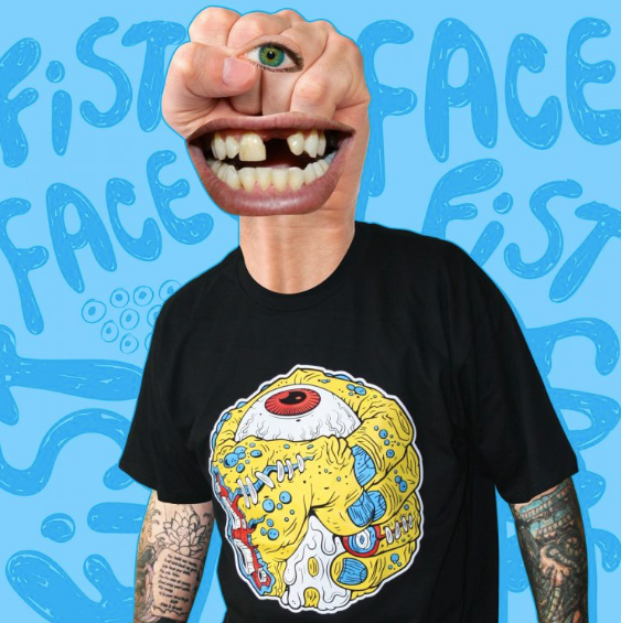 Fist Face T-Shirt