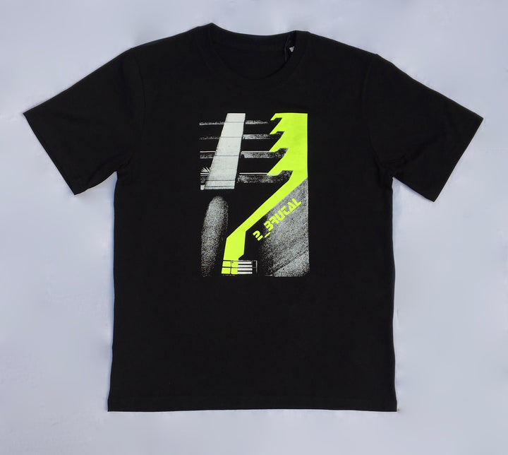 2_Brutal T-Shirt Neon Yellow Design