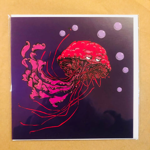 Jellyfish Card