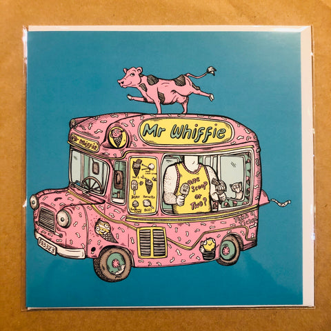 Ice Cream Van Card