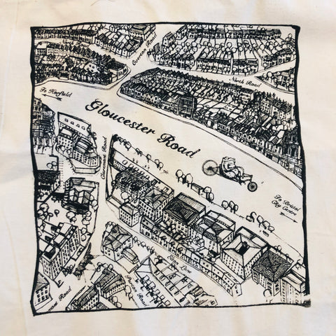 Gloucester Road Tote Bag