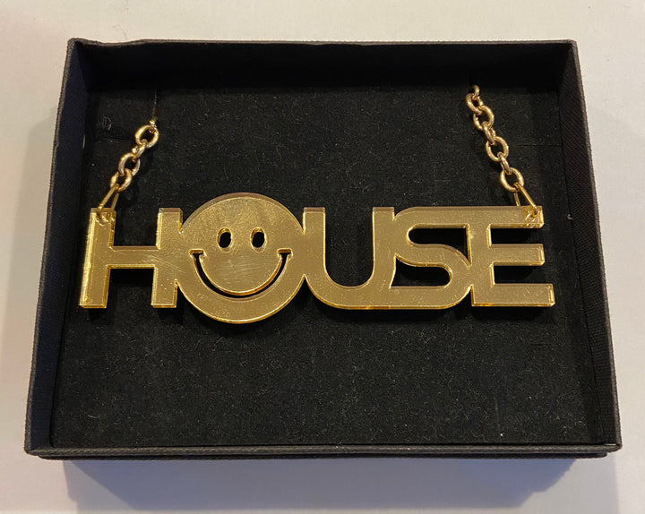 Large House Necklace