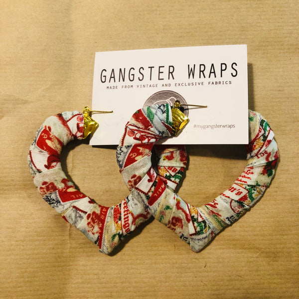 Large Heart Gangster Wraps