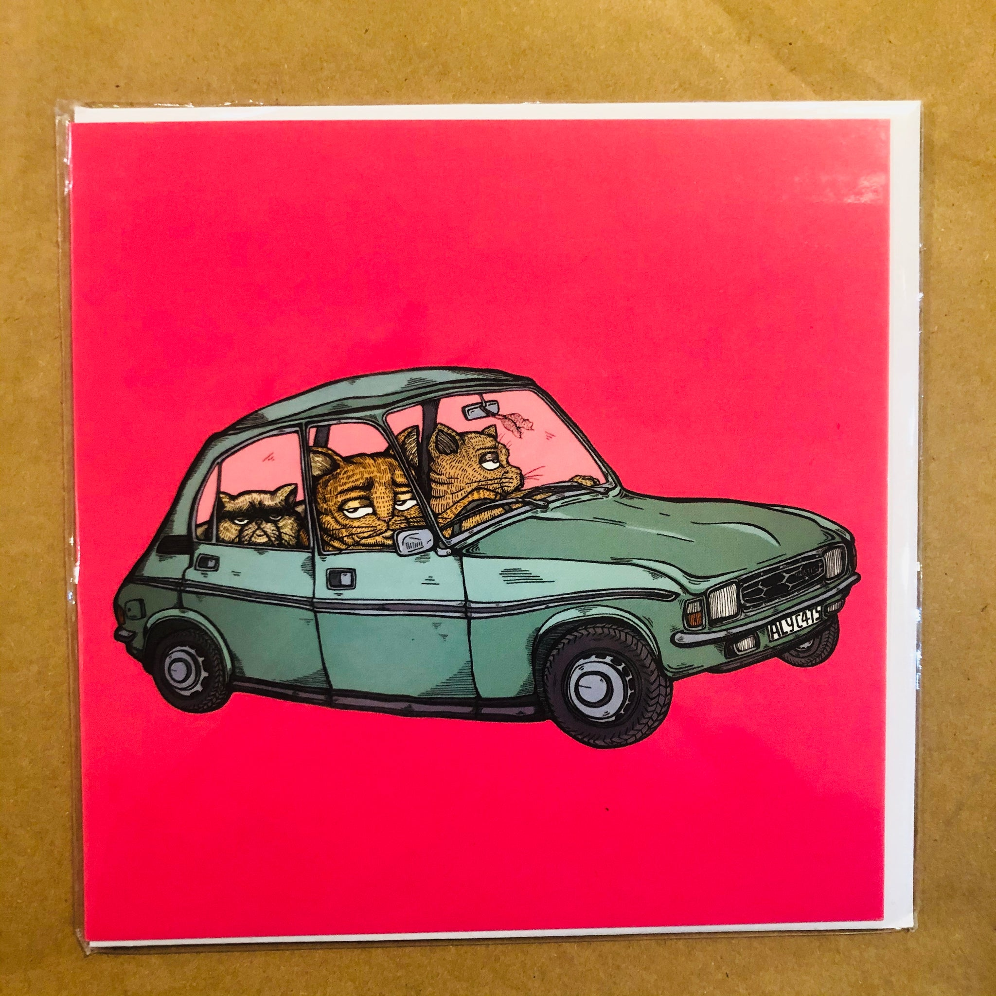 Cats in Austin Allegro Card