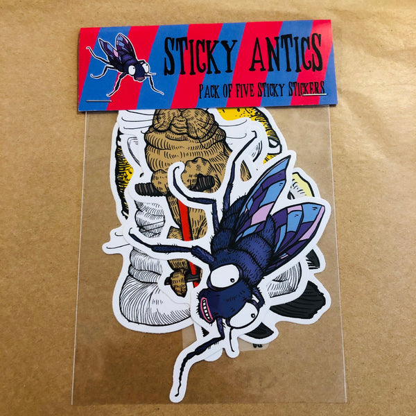 Sticky Antics Sticker Pack