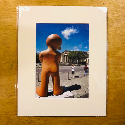 Morph Stares outside the RWA