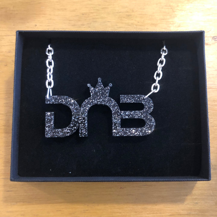 Large DNB Necklace