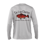 Men's Tie 1 On Charter Long Sleeve UPF50 Performance