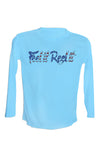 Signature Red White and Blue Long Sleeve UPF 50 performance Shirt