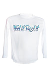 Youth UPF 50 Long sleeve sublimated Performance Shirt Fishn' Ft. Myers Redfish