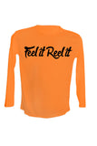 UPF 50 Long sleeve sublimated Performance Shirt Fishn' Florida Redfish