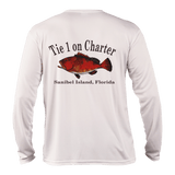 Youth Tie 1 On Charter Long Sleeve UPF50 Performance
