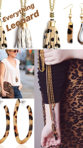 7de2e7265b We love pops of leopard accessories from our Honey Rose   K line and we  never turn away from an animal print coat or clutch!