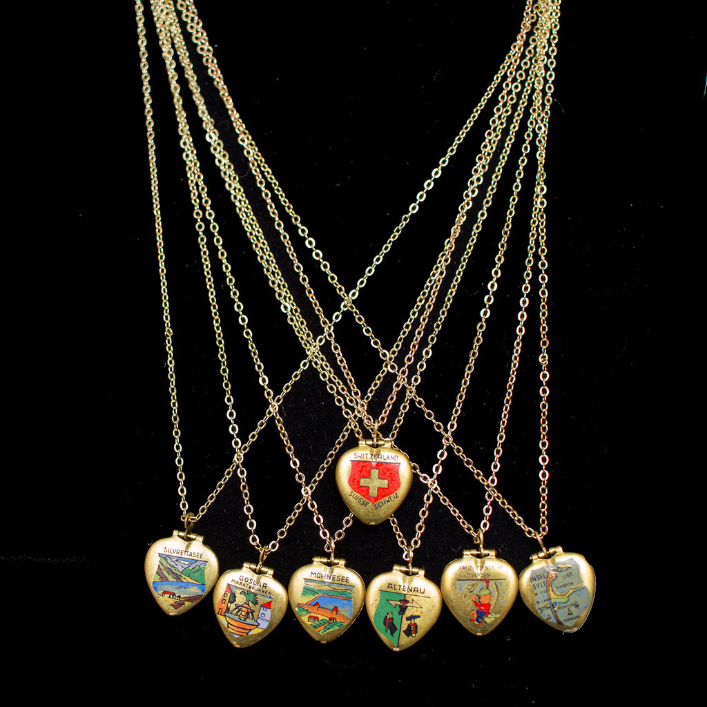 European Locket Necklaces