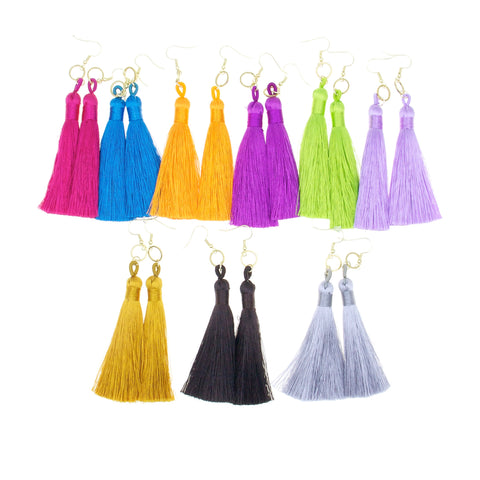 Tassel Ring Earrings