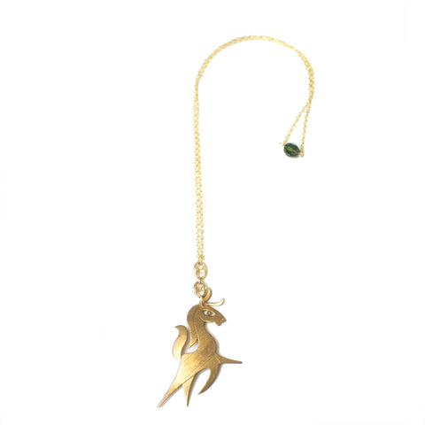 Flying Horse Necklace